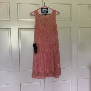 Bebe new with tags light coral dress